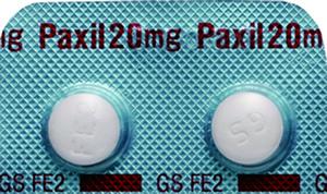 抗うつ剤のパキシル